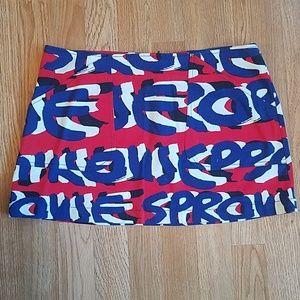 Vintage Sprouse Graffiti Skirt